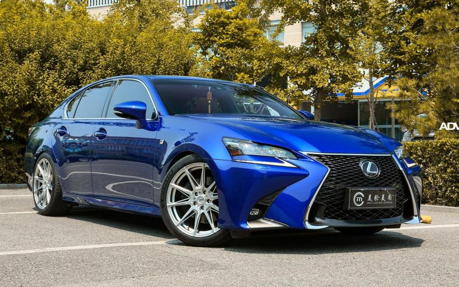 Lexus GS300 F-Sport on ADV.1 Wheels (ADV5.0 FLOWSPEC) '2020