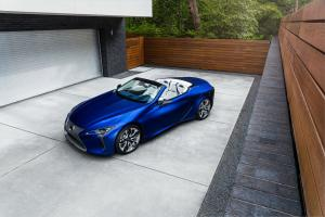 Lexus LC500 Convertible Regatta Edition 2020 года