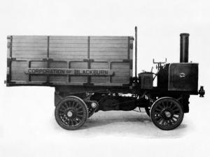 1903 Leyland Steam Wagon