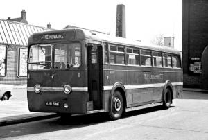Leyland Royal Tiger PSU1/13 1950 года