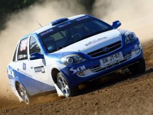2011 Lifan 520 Rally Car