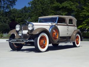 1930 Lincoln Model L Convertible Sedan by Derham