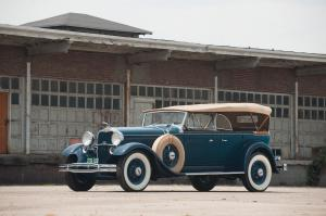 Lincoln Model K 7-Passenger Touring 1931 года