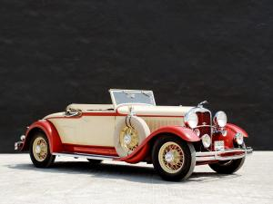 Lincoln Model K Convertible Coupe by LeBaron 1931 года