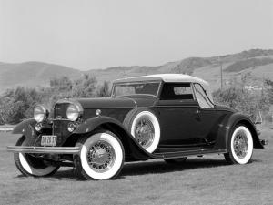 Lincoln Model KB Convertible Roadster by LeBaron 1932 года