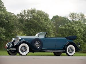 Lincoln Model KA Custom Convertible Sedan by Dietrich 1933 года
