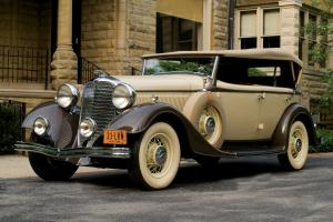1933 Lincoln Model KA Dual Cowl Phaeton by Dietrich