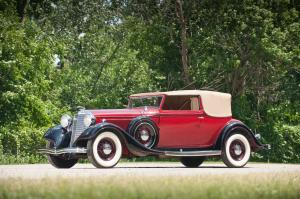 1933 Lincoln Model KB 5-Passenger Convertible Coupe by Brunn