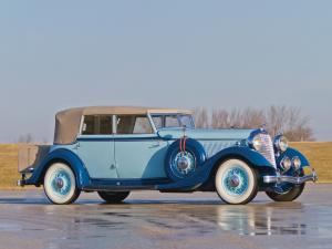 1933 Lincoln Model KB Custom Convertible Sedan by Dietrich
