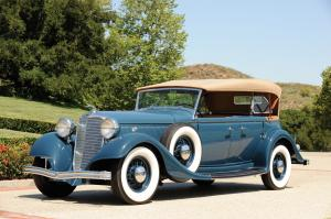 1933 Lincoln Model KB Sport Phaeton