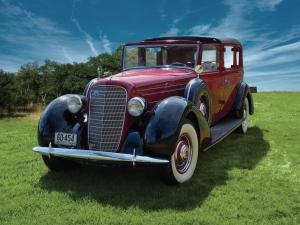 1936 Lincoln Model K 331 Brougham
