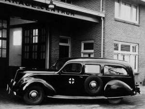 Lincoln Zephyr Ambulance 1936 года