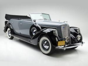 1937 Lincoln Model K 7-passenger Touring by Willoughby