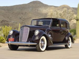 1937 Lincoln Model K Semi-Collapsible Town Car by Brunn