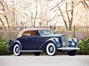 Lincoln Model K Convertible Victoria by Brunn 1938 года