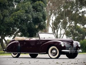 1939 Lincoln Zephyr Continental Cabriolet