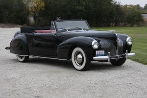 Lincoln Continental Cabriolet 1940 года