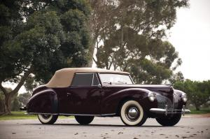 1940 Lincoln Zephyr Continental Cabriolet
