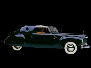 Lincoln Continental Coupe Special Loewy by Derham 1941 года