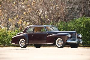 Lincoln Continental Coupe 1942 года