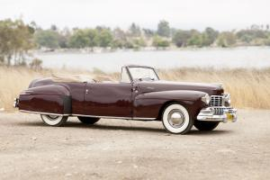 Lincoln Continental Cabriolet Narrow 1948 года