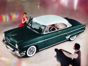 Lincoln Capri Special Custom Hardtop Coupe 1954 года