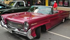 1958 Lincoln Continental III convertible