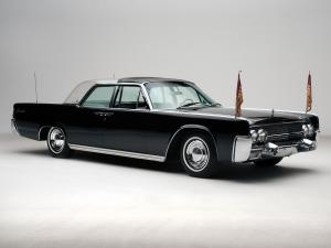 Lincoln Continental Bubbletop Kennedy Limousine 1962 года