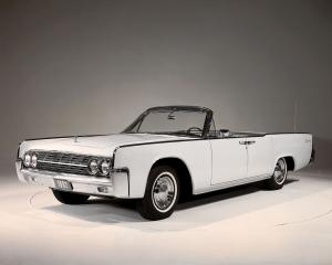Lincoln Continental Convertible 1962 года