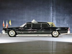 1964 Lincoln Continental Limousine Popemobile by Lehmann-Peterson