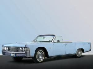 Lincoln Continental Convertible 1965 года