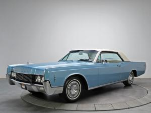 Lincoln Continental Hardtop Coupe 1966 года