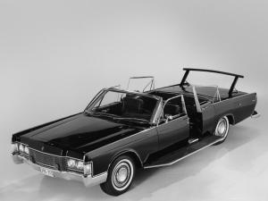 Lincoln Continental Secret Service Convertible by Lehmann-Peterson 1968 года