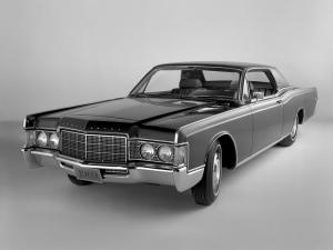 Lincoln Continental Hardtop Coupe 1969 года