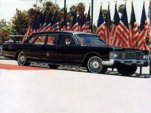 Lincoln Continental Presidential Limousine 1969 года