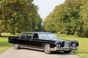 1972 Lincoln Continental Stretch Limousine