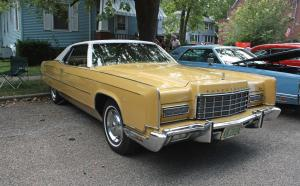 Lincoln Continental 2-Door Hardtop 1973 года