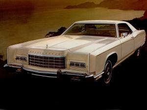 Lincoln Continental Town Coupe 1973 года