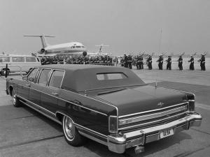 Lincoln Continental Town Car Limousine 1978 года