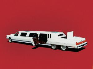 Lincoln Town Car XL-40 Limousine by National Coach Engineering 1986 года