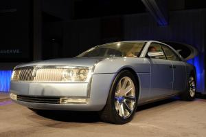 Lincoln Continental Shelf Concept 2002 года