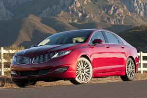 Lincoln MKZ 2013 года