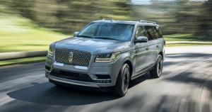 Lincoln Navigator Black Label 2017 года