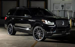 Lincoln Navigator by Designo Motoring on Vossen Wheels (HF6-1) 2019 года
