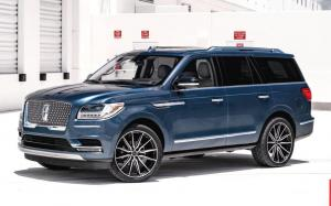 Lincoln Navigator on Vossen Wheels (HF6-1) 2019 года