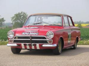 1965 Lotus Cortina European Touring Car Championship