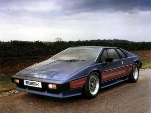 Lotus Essex Turbo Esprit 1980 года