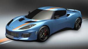 Lotus Evora Blue and Orange Limited Edition 2016 года
