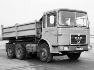 MAN F8 26.256 Tipper 1967 года