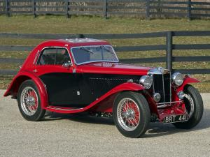 MG NB Magnette Airline Coupe by Allingham 1935 года